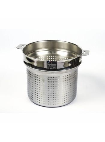 Вставной элемент Классик, для варки спагетти 24 см, съемные ручки, ECP24Q, CRISTEL