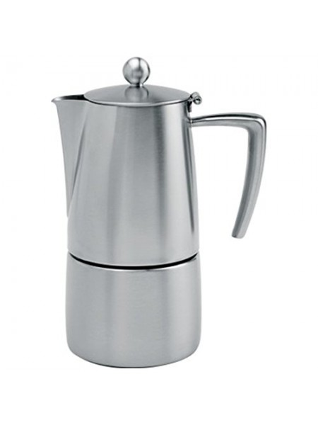 CRISTEL C6TTR Кофейник Cristel, Торино, на 6 чашек, индукция, нержавеющая сталь