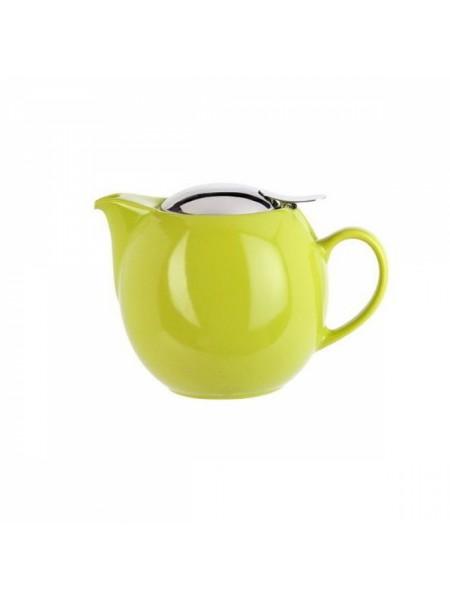 Заварочный чайник Сатурн Чайники, серо-зеленая сетка, 0,5 л., TH05SGC, CRISTEL