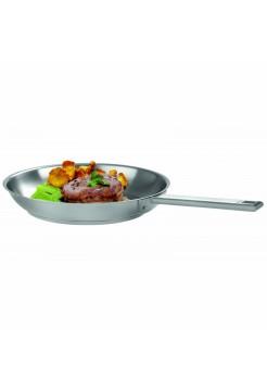 Сковорода Стрейт-фикс, 24 см, матированная, внутри нерж.сталь, P24SF, CRISTEL