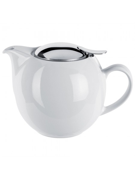 Заварочный чайник Чайники, белый фарфор и нержавейка, 0,68 л, TH07U, CRISTEL