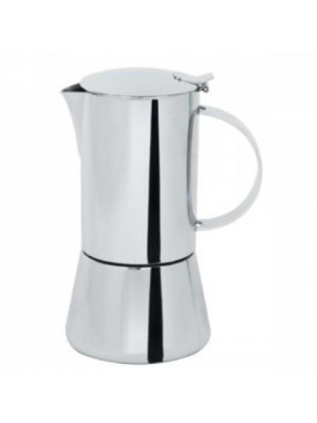 Кофейник Капри, на 6 чашек, нержавеющая сталь, C6TCB, CRISTEL