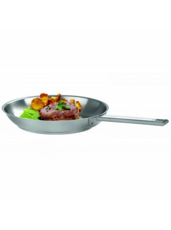 Сковорода Стрейт-фикс, 20 см, матированная, внутри нерж.сталь, P20SF, CRISTEL