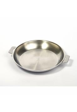 Сковорода L съемные ручки, матированная, 24 см, P24QL, CRISTEL